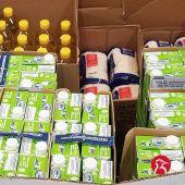 Bricocentro dona 14.000 kilos ó Banco de Alimentos