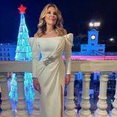 Ana Obregón vestida por Alejandro De Miguel