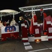Los Reyes Magos han viajado en un tren turístico