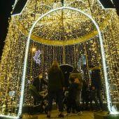 A iluminación artística de Nadal continuará engalanando as rúas da cidade até o domingo