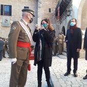"""El comandante general resalta en la Pascua Militar el """"espíritu de servicio"""" de las Fuerzas Armadas durante la pandemia"""