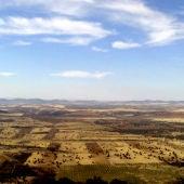 Paisaje afectado por el proyecto de minería de tierras raras en la provincia de Ciudad Real