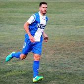 El jugador del Alcoyano, Jony Ñíguez