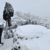 La borrasca Filomena dejará importantes espesores en la provincia de Teruel