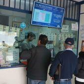 Imagen de archivo de una administración de lotería