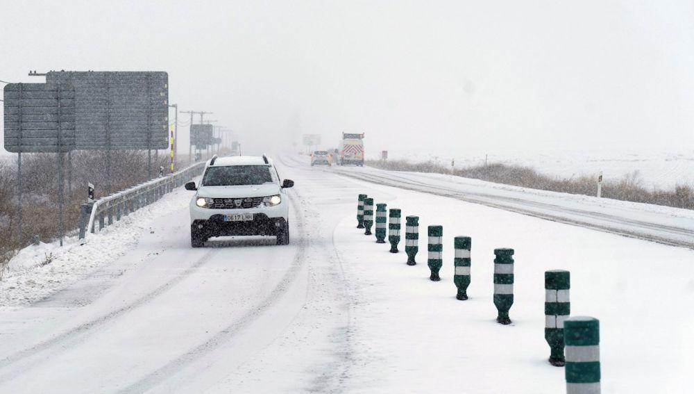 4 carreteras de Ciudad Real están cerradas al tráfico debido a la nieve