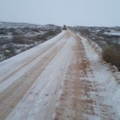 Camino tras la nevada