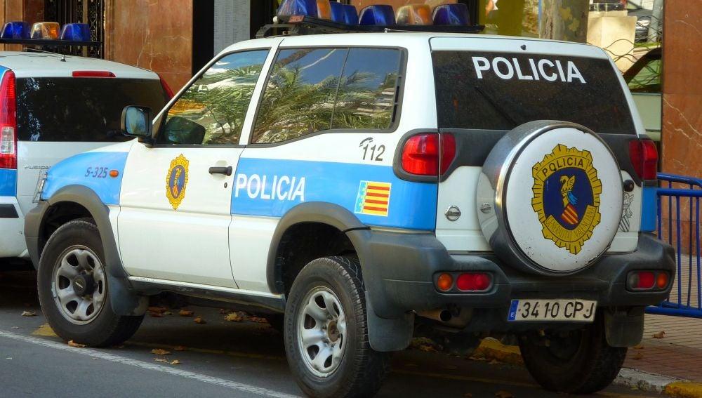 Un coche patrulla de la Policía Autonómica