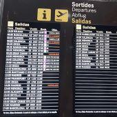 El aeropuerto de Palma retoma con normalidad los vuelos con Madrid después del paso de la borrasca Filomena