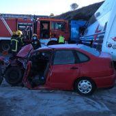 El accidente ha ocurrido en la N-430, cerca de Piedrabuena