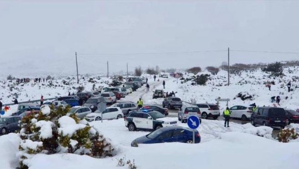 La Guardia Civil interpone 420 denuncias por dificultar la circulación durante Filomena