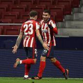 Correa y Saúl permiten al Atlético dar un golpe importante en la conquista liguera