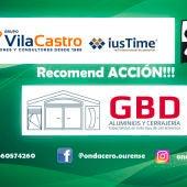 RecomendACCION!!! con Aluminios y Cerrajería G.B.D
