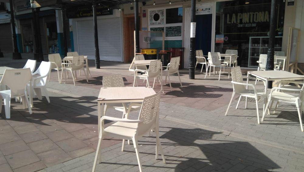 Los hosteleros de Herencia no tendrán que pagar en 2021 las tasas de terrazas