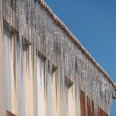Carámbanos de hielo en Teruel