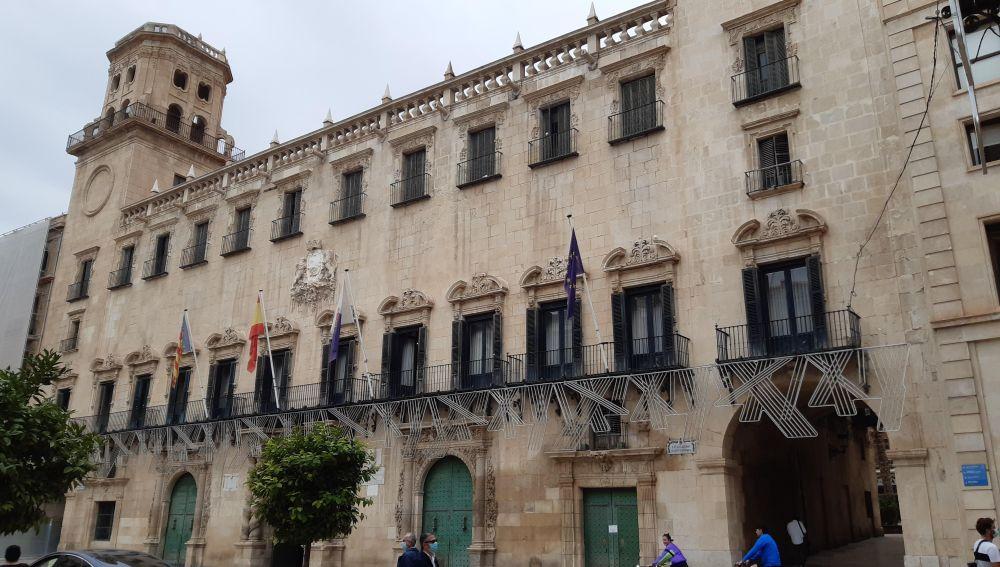 Edificio barroco del ayuntamiento