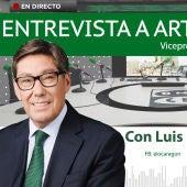 Entrevista a Arturo Aliaga, vicepresidente del Gobierno de Aragón