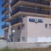 Imagen de archivo del edificio de la Policía Local de Peñíscola.