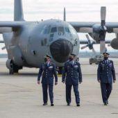 Adiós a los Hércules en la Base Aérea de Zaragoza