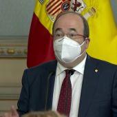 "Miquel Iceta toma posesión como ministro de Política Territorial: ""Me gusta España como es, diversa, plural y unida"""