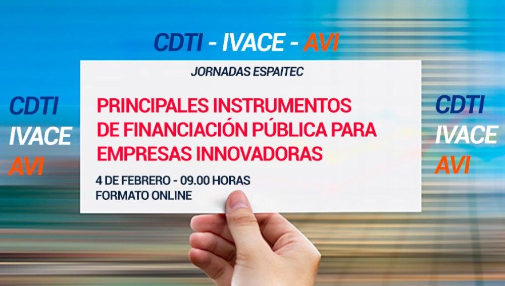 Espaitec organiza una jornada para dar a conocer los principales instrumentos de financiación pública para empresas innovadoras