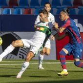 Lucas Boyé, en una acción durante un partido de esta temporada.