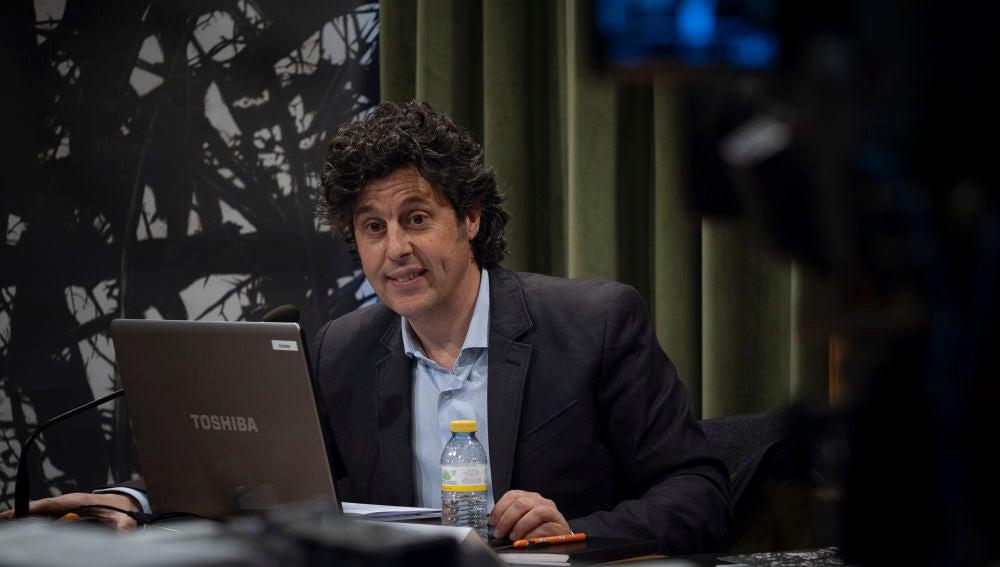 Cristóbal Soler, durante la presentación de la última edición