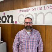 Antonio Vega, en la redacción de iLeón.