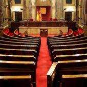 Vista genérica del Parlament catalán