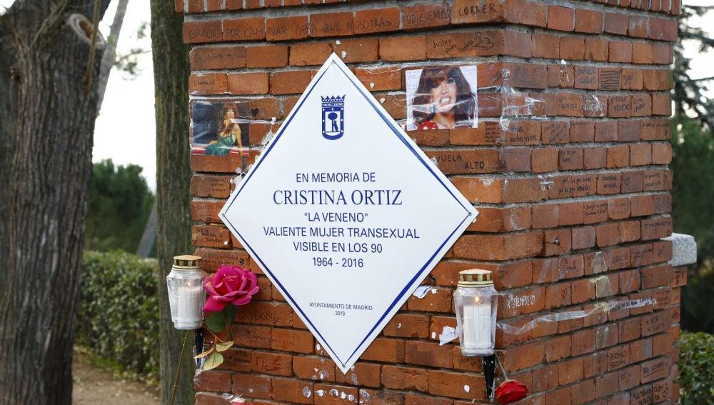 Memorial de Cristina Ortíz, La Veneno