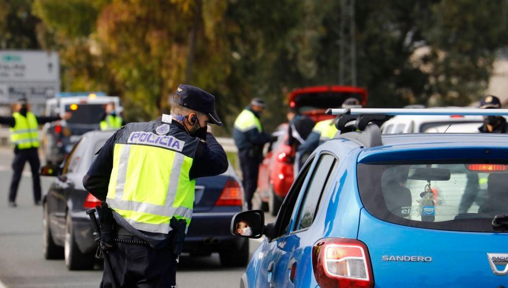 Controles policiales .