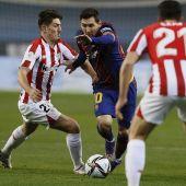 Alineaciones del Barcelona - Athletic hoy en LaLiga Santander