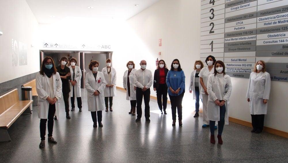 Personal sanitario del Hospital de Ciudad Real