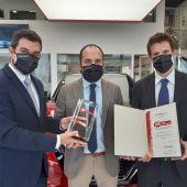 Roipesa Pontevedra recibe un premio