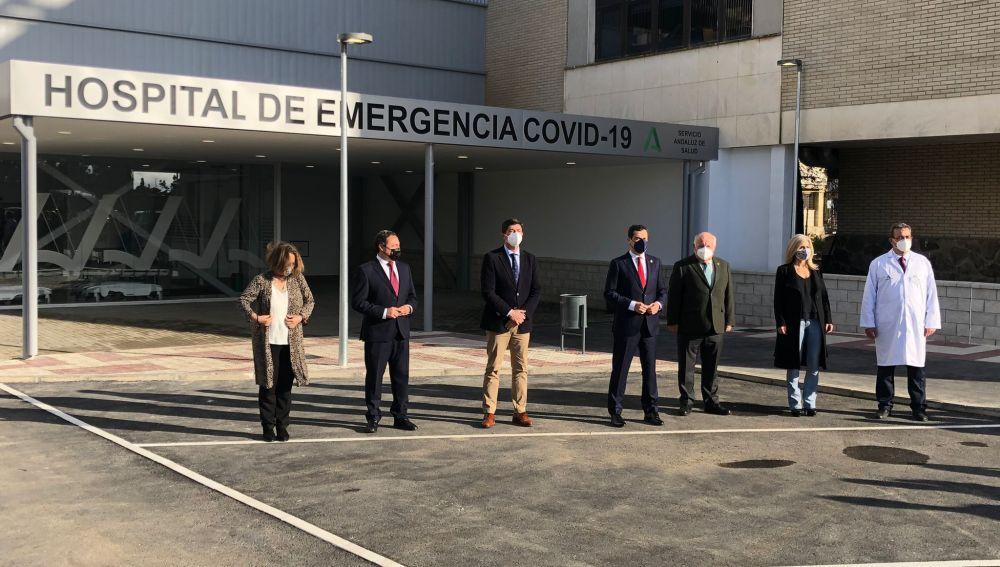 En directo: el presidente de la Junta asiste a la reapertura del Hospital Militar de Sevilla