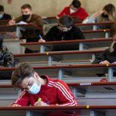 La Universidad de Murcia retoma los exámenes presenciales este lunes