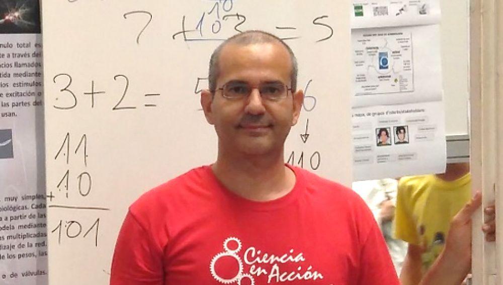Antonio Guirao, profesor del Departamento de Física de la UMU