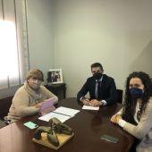 Reunión delegada con el alcalde