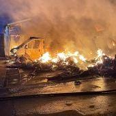 Incendio Caravaning K2 Alcalá de Henares