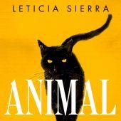 Portada del libro Animal, de Leticia Sierra