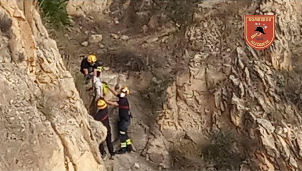Operación de rescate en la Serra Grossa