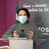Ana Rojas, portavoz de Podemos en San Fernando