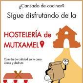 El Ayuntamiento de Mutxamel impulsa la hostelería y las comidas para llevar