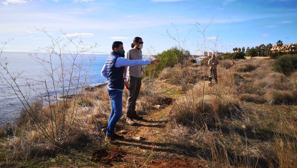 Actuación conjunta para la Microrreserva de flora de Punta La Glea