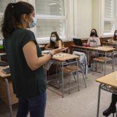 Los alumnos de 2º de Bachillerato recuperaron la presencialidad recién iniciado el curso