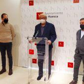 Grhusa ampliará la plantilla y renovará maquinaria para encargarse de la limpieza viaria de Huesca