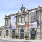 Antigua estación de Murcia, actual sede de Casa Mediterráneo