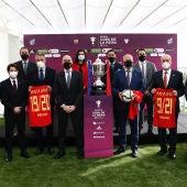 Presentación en Málaga de la Copa de la Reina
