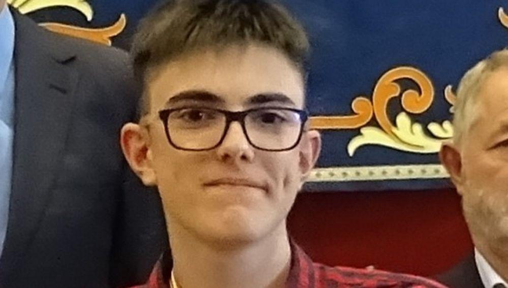 Marcos Ochoa gana la fase local de la LVII Olimpiada Matemática de Bachillerato en el distrito Universitario de Valladolid