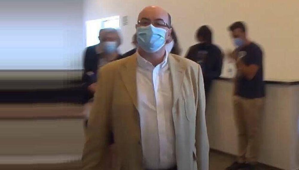 El ya exconcejal de Sanidad de Benejúzar, José Antonio García Gómez
